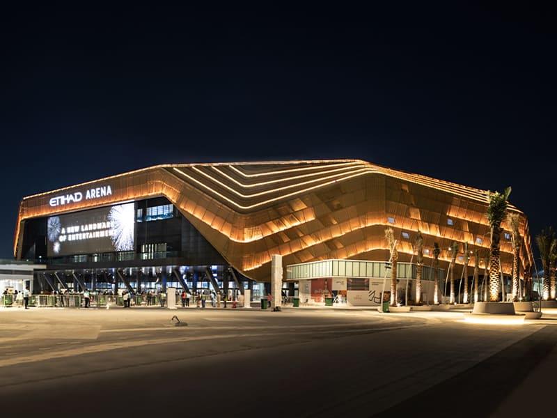 UAE Etihad Arena opens