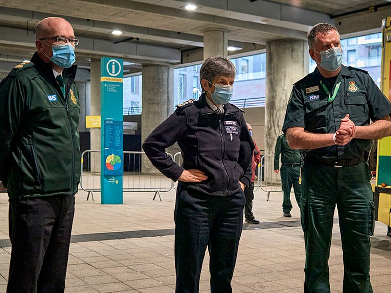 Wembley to care for Londoners during covid pandemic