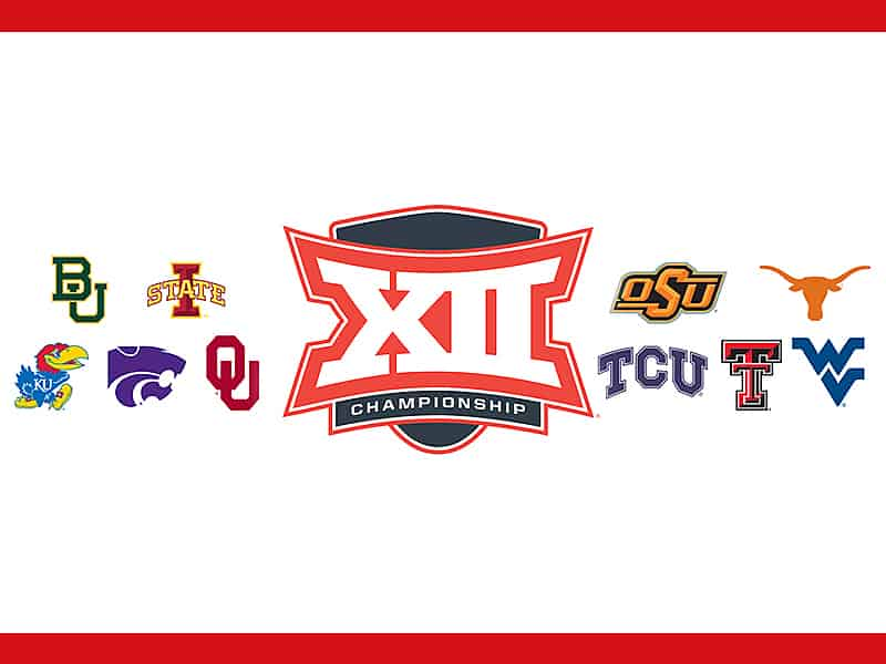 2021 Phillips 66 Big 12 Mens Basketball Championship with fans