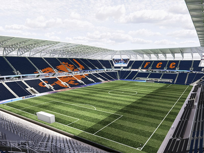 FC Cincinnati stadium opening in May
