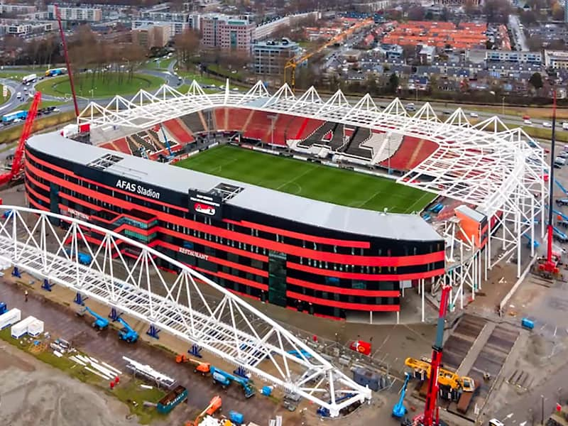 AZ Alkmaar roof update March 2021