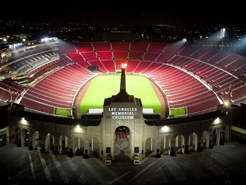 Los Angeles LA Giltinis rugby team to play at Coliseum