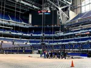 Lucas Oil Stadium prepares for NCAA March Madness