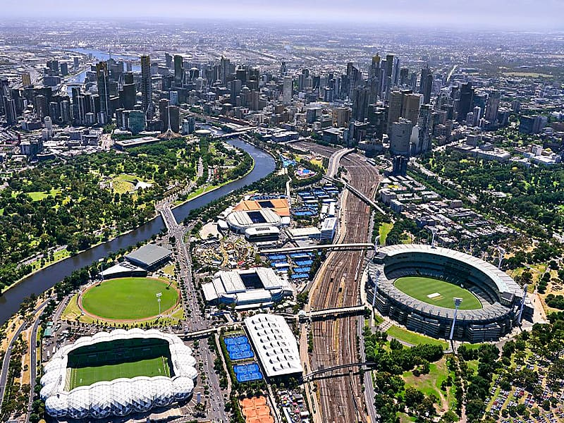 Australia Melbourne and Olympic Parks precinct back in full swing