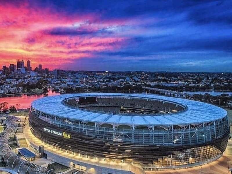 Australia Optus Stadium planning for big crowds