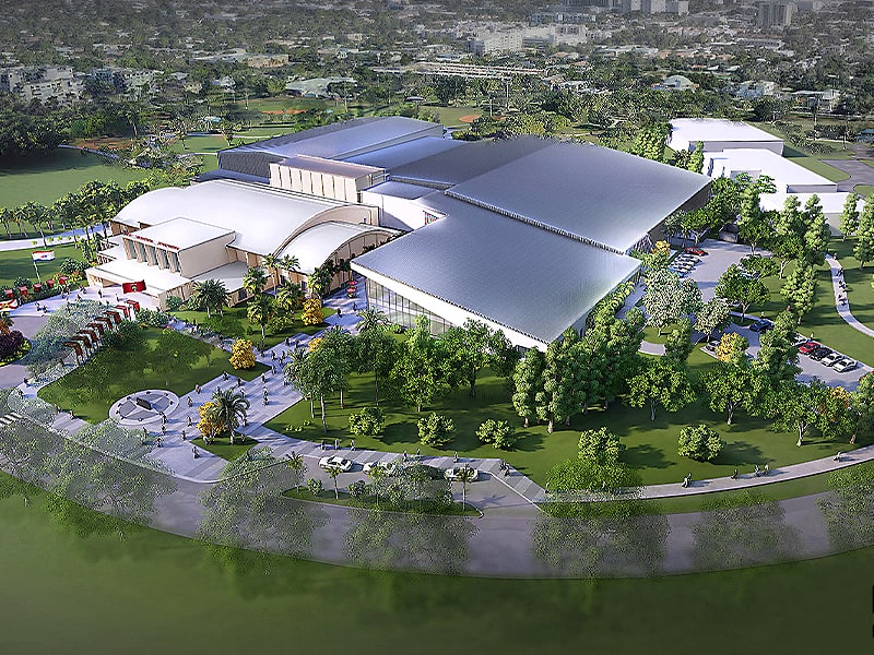 Florida Panthers start construction on training facility