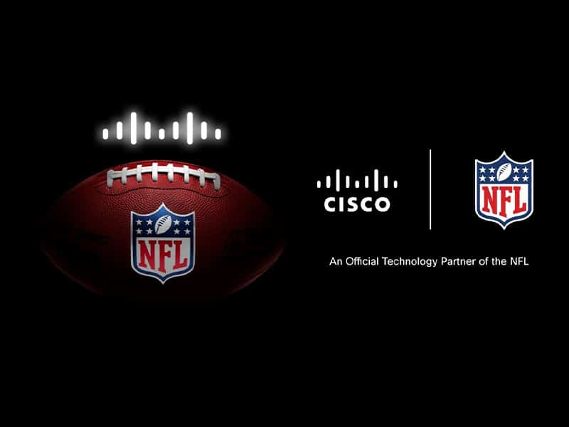 NFL partners with CISCO