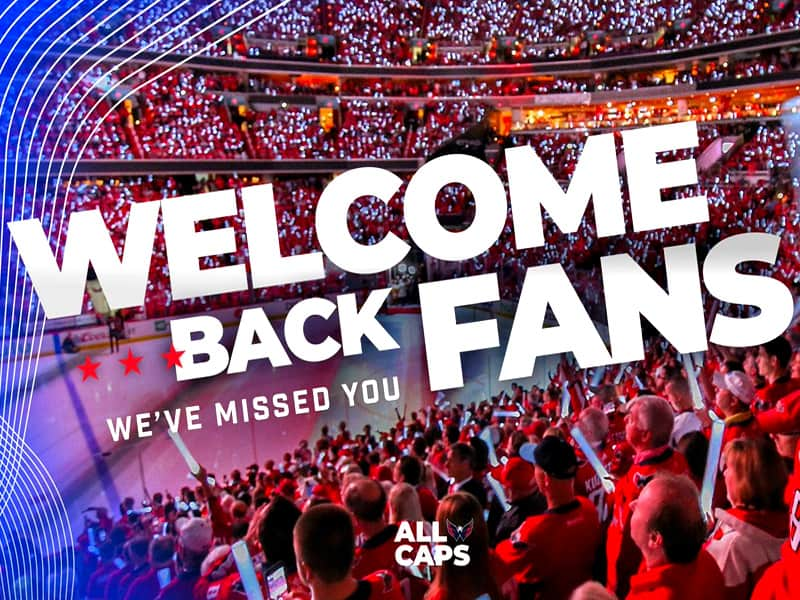 Washington Capital One Arena prepares fans for return