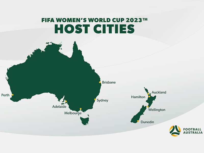 FIFA Womens World Cup 2023 stadiums announced