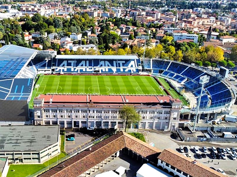 Atalanta Bergamo stadium update April 2021