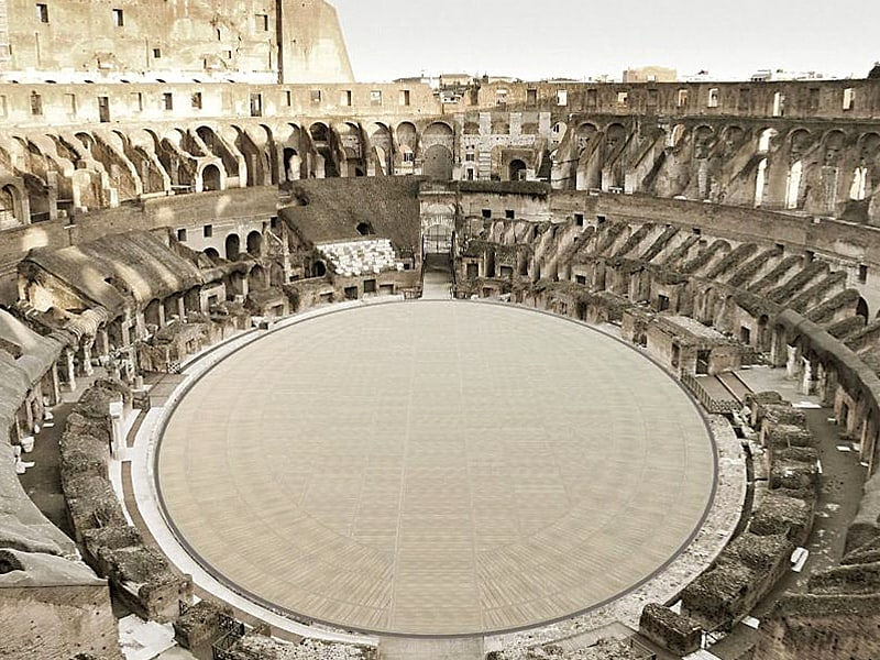Rome Colosseum will get new floor